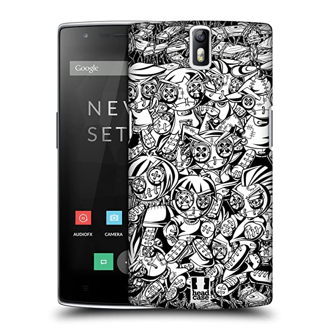 7 opinioni per Head Case Designs Punk Doodle Voodoo Dolls Protective Snap-on Hard Back Case