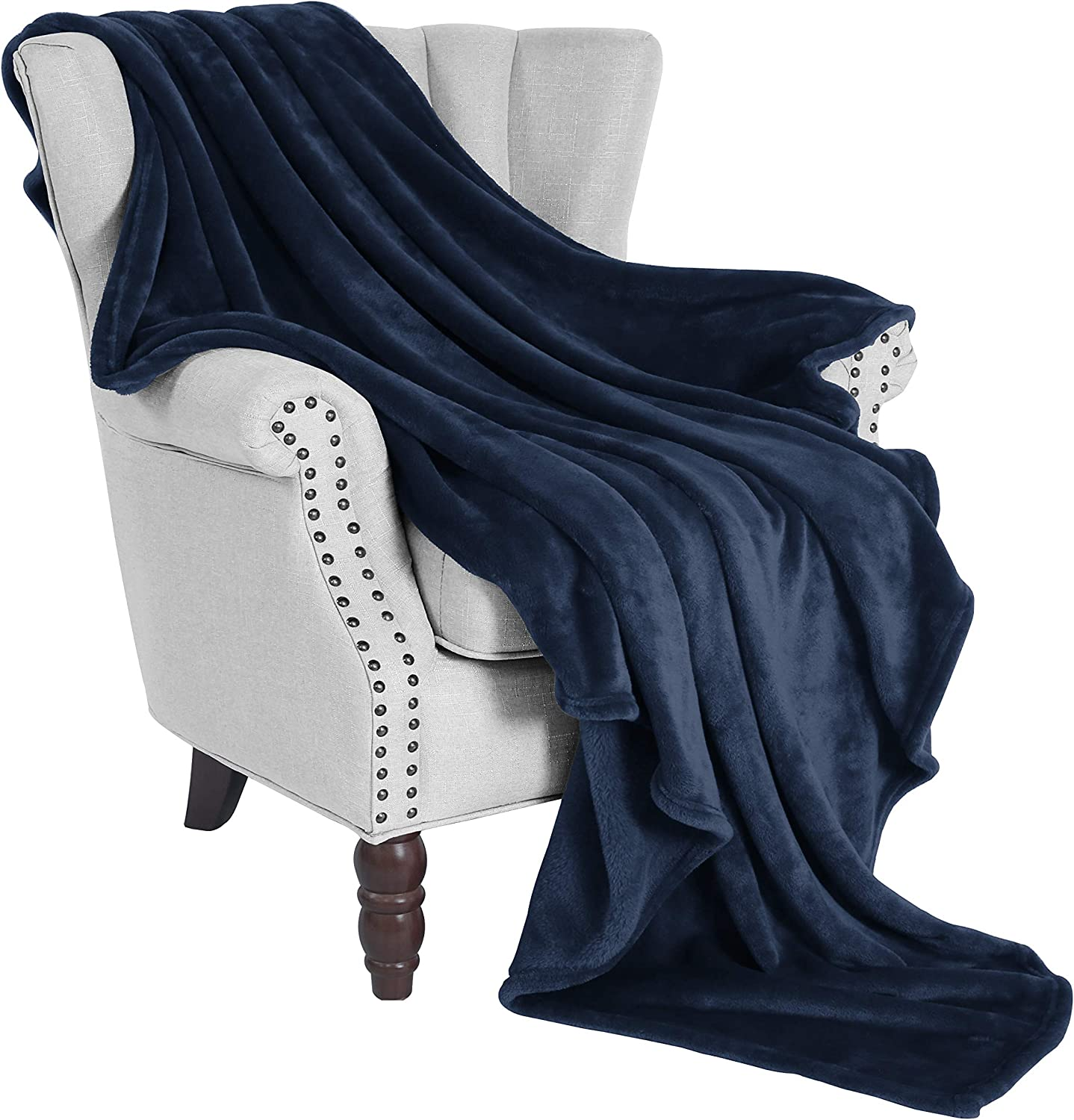Exclusivo Mezcla Flannel Fleece Velvet Plush Soft Throw Blanket – 50