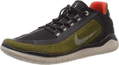 Encadenar cruzar jurar  Nike Mens Free Rn 2018 Shield Fabric Low Top Lace Up Fashion Sneakers:  Amazon.ca: Shoes & Handbags