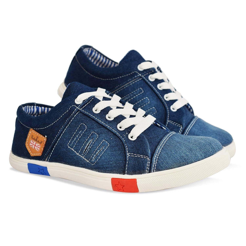 Buy Krafter Men's Denim Shoes at Amazon.in