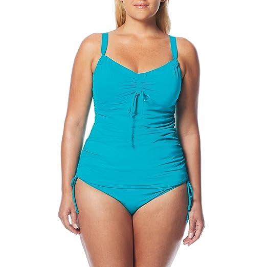 0e62a45080 Beach House Women's Paloma Beach Classic Bra Tankini Top Pool 16 at Amazon  Women's Clothing store: