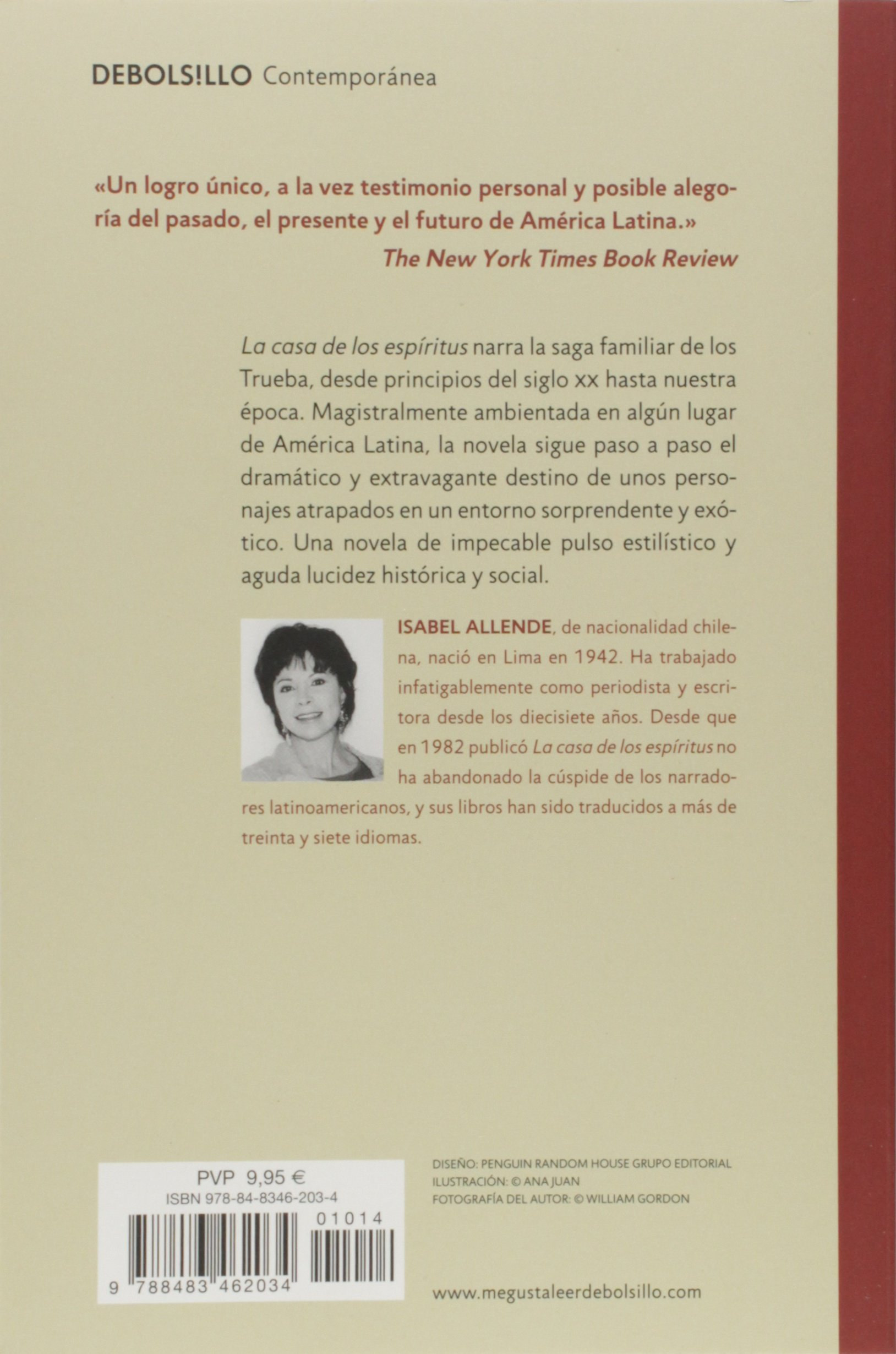 La Casa De Los Espiritus Contemporánea Allende Isabel Amazon De Bücher