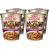 Nissin Cup Noodles Veggie Manchow, 70g (Pack of 4)