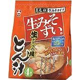 旭松食品 袋入生みそずい生タイプとん汁4食 264.8g