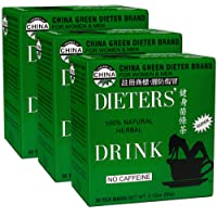 Uncle Lee's Dieters Detox Tea for Weight Loss and Belly Fat - Chinese Green Slim Tea With Senna Leaves - 100 Percent…