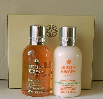 Molton Brown Japanese Orange Body Wash & Lotion Travel Gift Set 100ml: Amazon.co.uk: Beauty