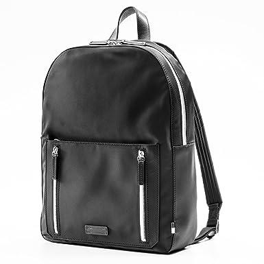 9a828de2c3 Amazon.com | Uri Minkoff Men's Bondi Saffiano Leather Backpack ...