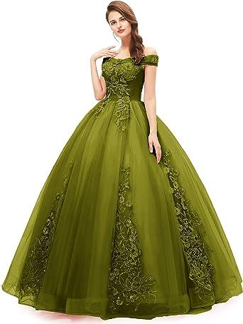 Amazon Com Okaybrial Dulce 16 Vestidos De Quinceanera Rubor Rosa Fuera Del Hombro De Encaje Largo Vestidos De Baile De Graduacion Tallas Grandes Clothing