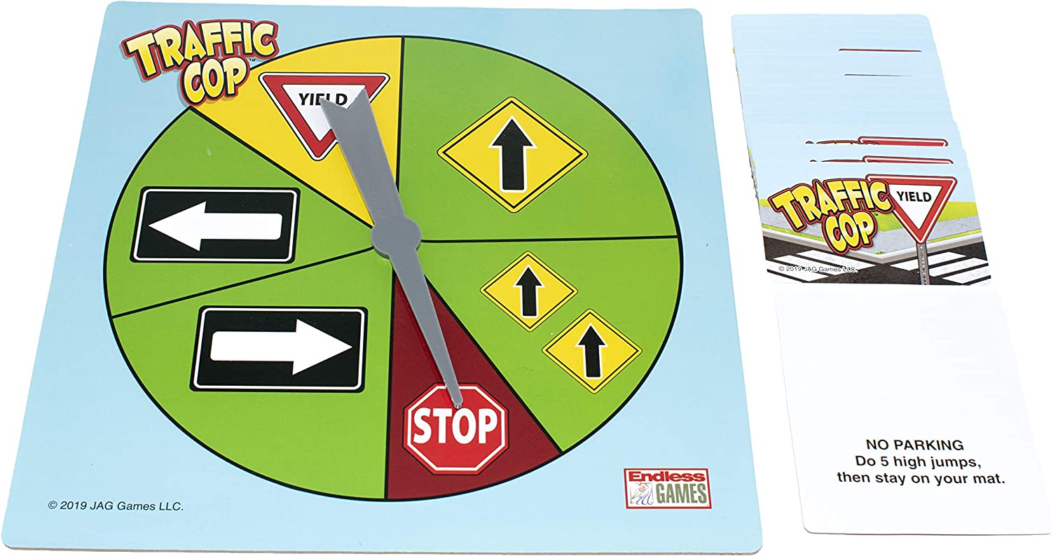 Amazon.com: Traffic Cop: The School Yard Game of Stop and Go ...