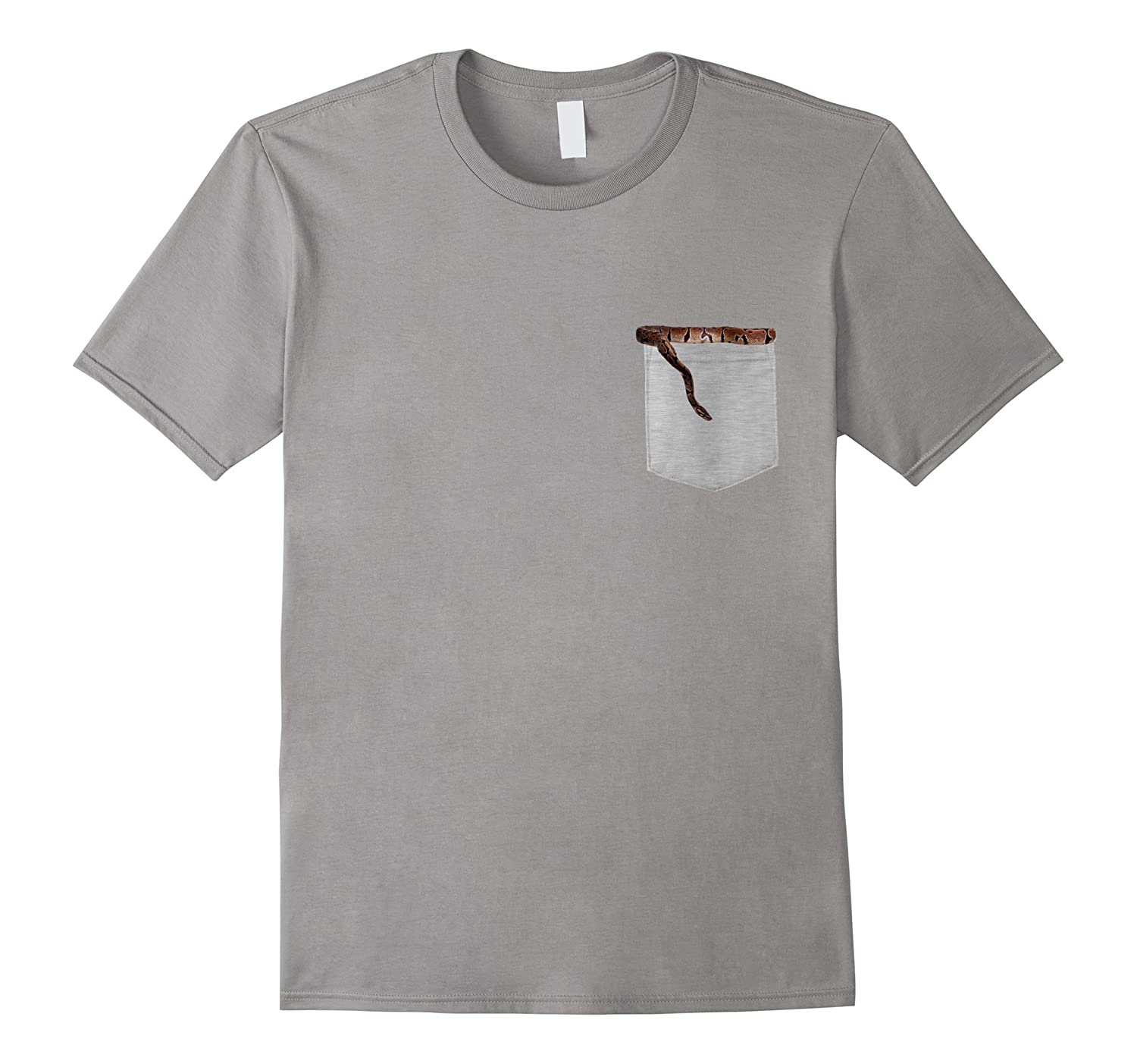 Animal in Your Pocket Ball Python T-shirt-ANZ