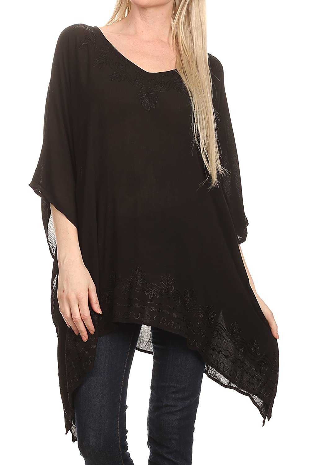 2e28a20b5ca259 ... UK 6-26) Max bust size: 51 inches (129.5cm), 30.5 inches (77.4cm)].  Approximate Length = 30.5 inches ( 77.4 cm ) Measured shoulder to hem. This  poncho ...