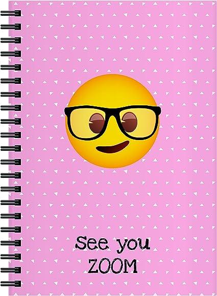 El Jardin de Noa EBN1003A - Cuaderno, A4: Emoji By Noa: Amazon.es: Oficina y papelería