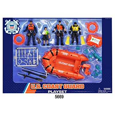 United States Coast Guard Playset: Toys & Games