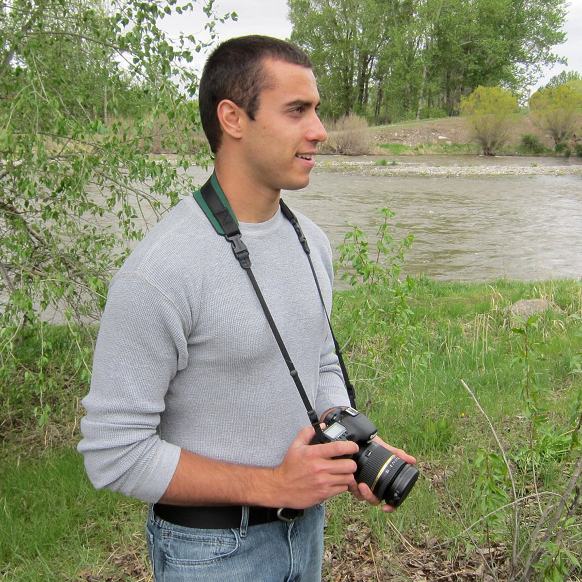OpTech Pro - Correa para cámaras de fotos, videocámaras y prismáticos, diseño de camuflaje OP/TECH USA 1510012