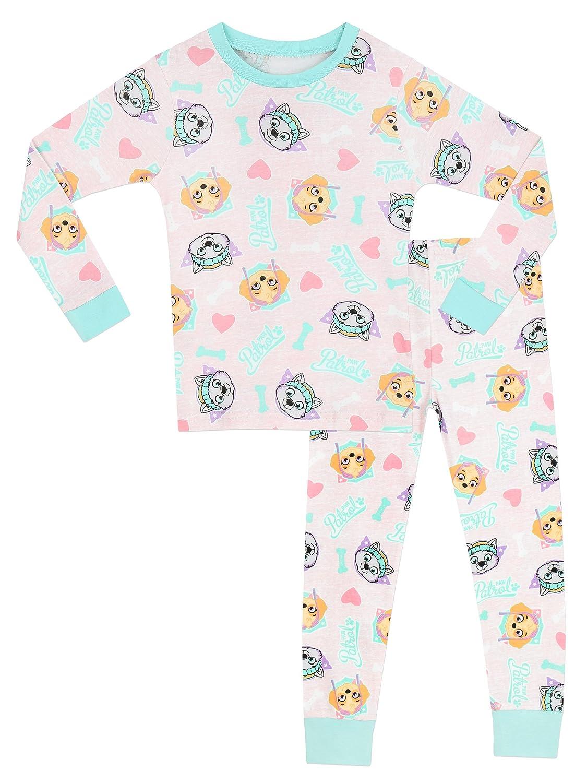 La Patrulla Canina - Pijama para niñas - Paw Patrol - Ajuste Ceñido - 3 - 4 Años: Amazon.es: Ropa y accesorios