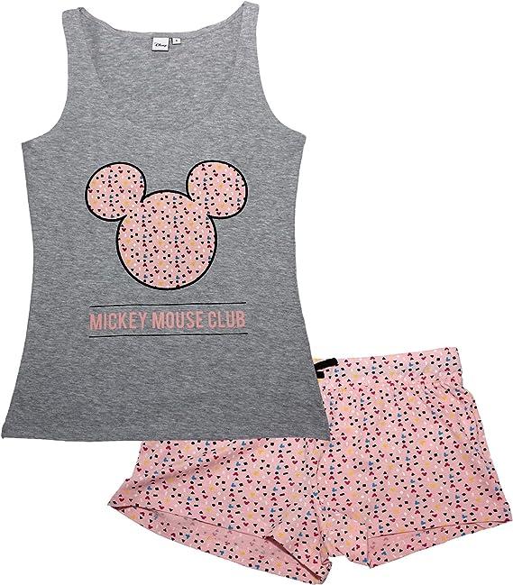 Minnie Mouse Donna Pigiama Corto