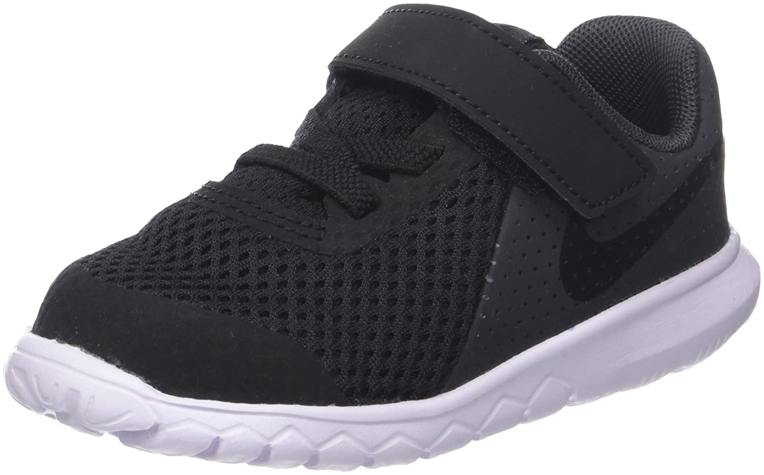 NIKE Baby Boy's Flex Experience 5 Athletic Shoe B0059G176Q 10 Toddler M|Black/Black-anthracite-white