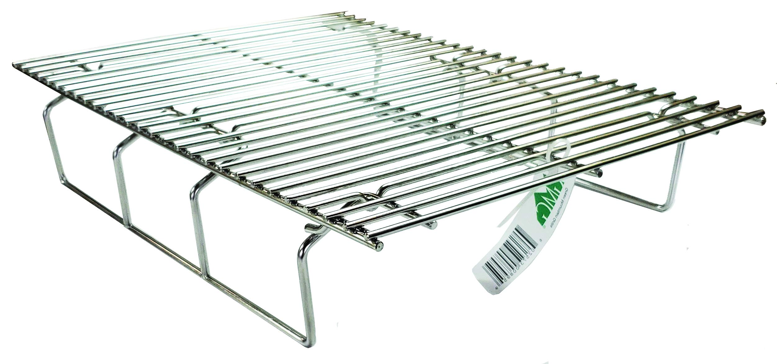Green Mountain Grills GMG-6034 Collapsible Upper Rack for Davy Crockett Pellet Grill, Stainless Steel by Green Mountain Grills