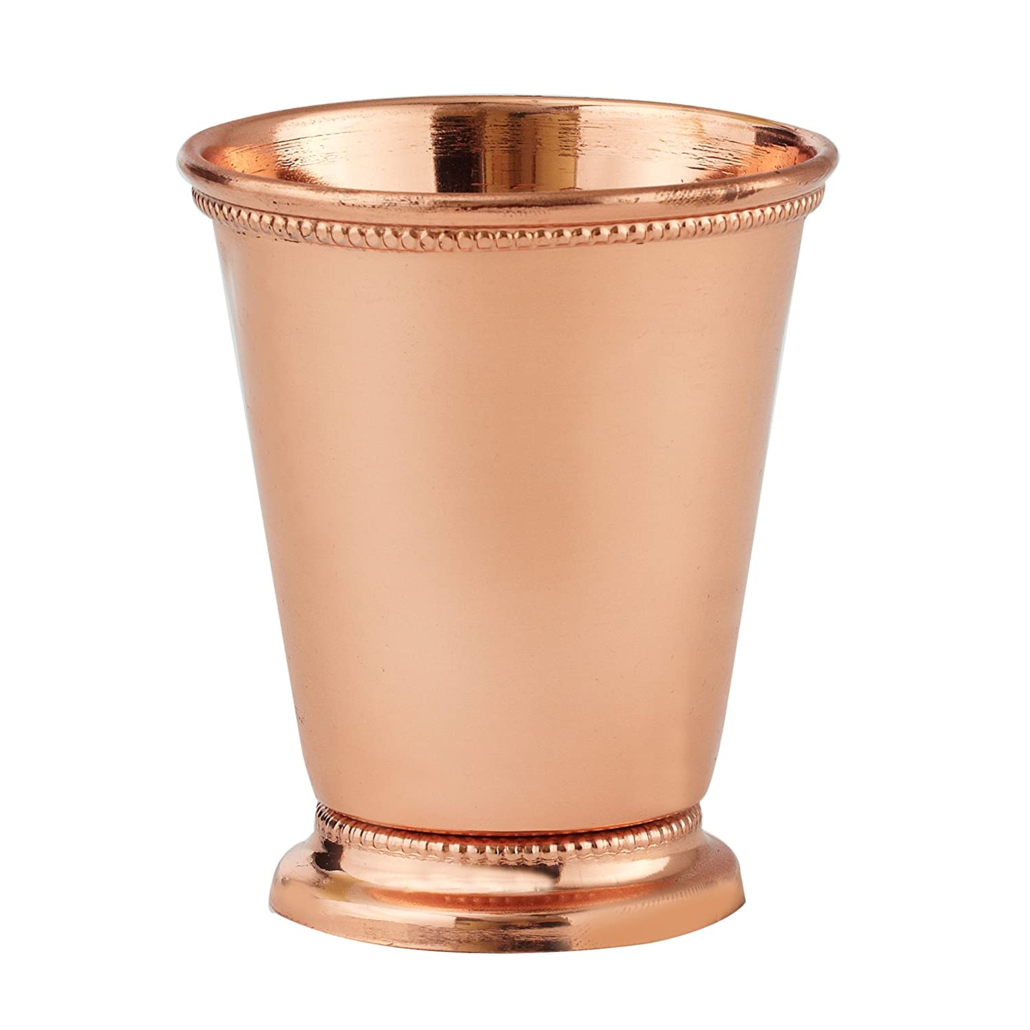 Elegance Copper Plated Mint Julep Cup, 3.5-Inch, Copper Leeber Limited USA 90462