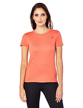 6d6d2b64 adidas Women's Cf4529 Freelift Prime T-Shirt: Amazon.co.uk: Clothing