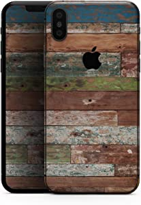 Vintage Wood Planks - Design Skinz Premium Skin Decal Wrap for The iPhone 5s or SE