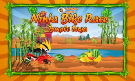 Ninja Bike Race: Temple Saga - Free Racing Game