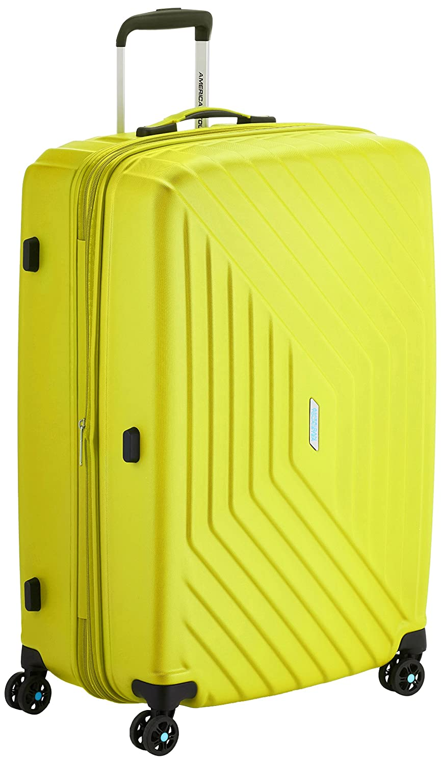 American Tourister Air force Spinner  Serrure Tsa Expendable Maleta Litros Amarillo