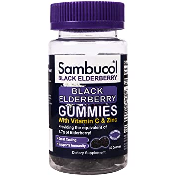 Amazon.com: Sambucol Black Elderberry Gummies 75 ct ...