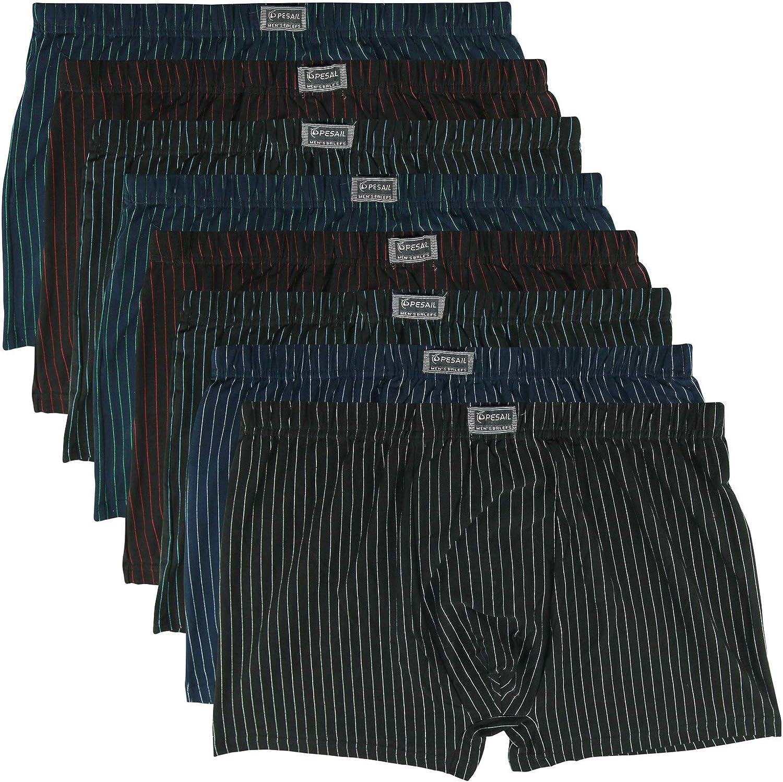 4XL 5XL 6XL Stretch Bambusfaser Boxershorts Herren Boxer Unterhose Übergröße Gr