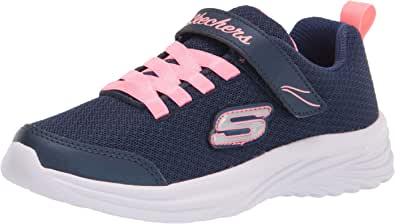 Skechers Unisex-Child Sport, Light Weight, Girls Machine Washable Sneaker