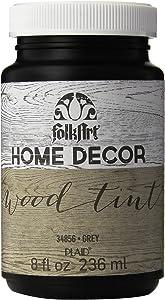 FolkArt Home Decor Wood Tint (8 Ounce), Grey