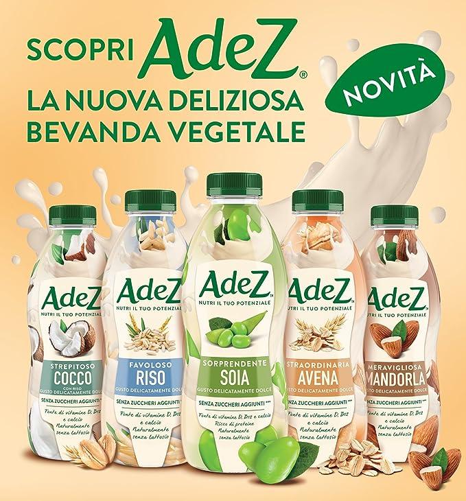 AdeS Bebida Vegetal Soja Maravillosa - 0.8 l: Amazon.es: Alimentación y bebidas