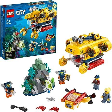 Lego City Ocean Exploration Submarine Deep Sea Set 60264 Diving Adventure Toy For Children Spielzeug