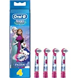 Oral-B Stages Kids Frozen Replacement Toothbrush Heads Powered by Braun - Pack of 4