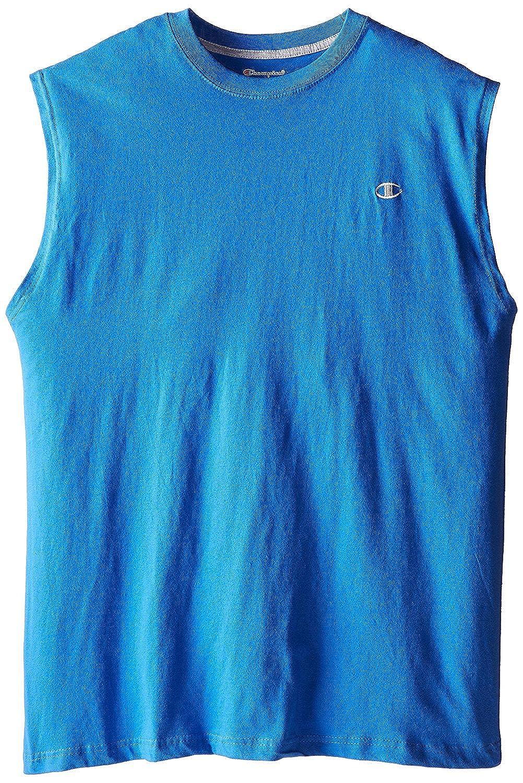 Champion Mens Big-Tall Jersey Muscle T-Shirt