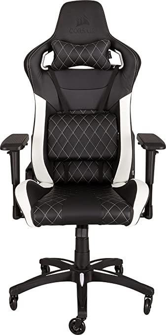 Amazoncom Corsair T1 Race Gaming Chair High Back Desk Office