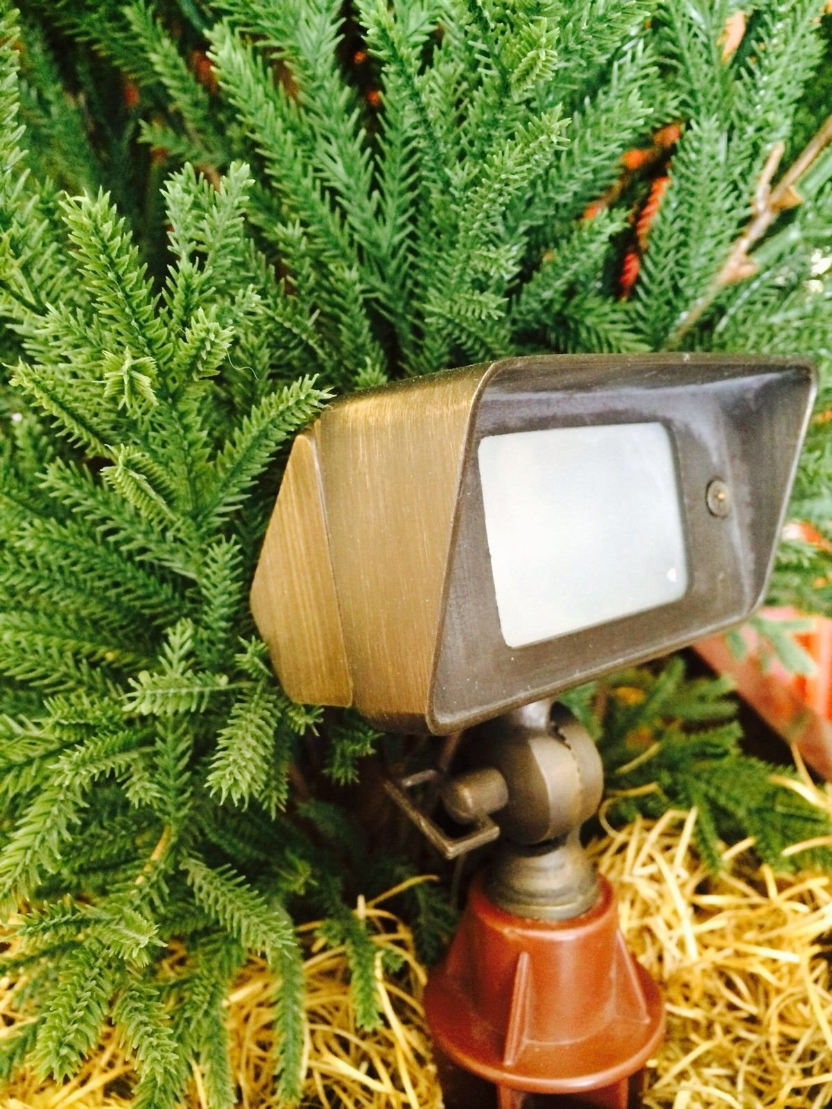 Pinnacle Lights Solid Brass Sculptor Wall Wash/Flood Light By LED Low Voltage Outdoor Landscape Lighting by Pinnacle Lights