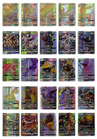 Lote de 25 cartas de Pokémon Sol y Luna GX Booster - Cartas ...