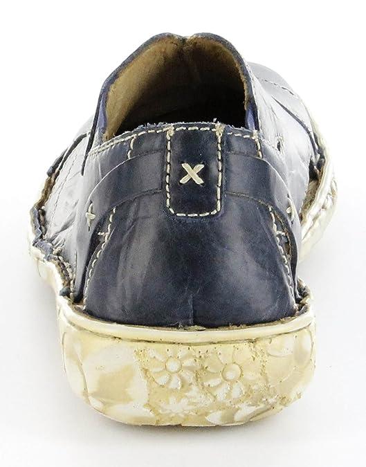 ba49c863d10f6 Josef Seibel Schuhe Damen Halbschuhe Slipper Inka 11 blau river: Amazon.de:  Schuhe & Handtaschen