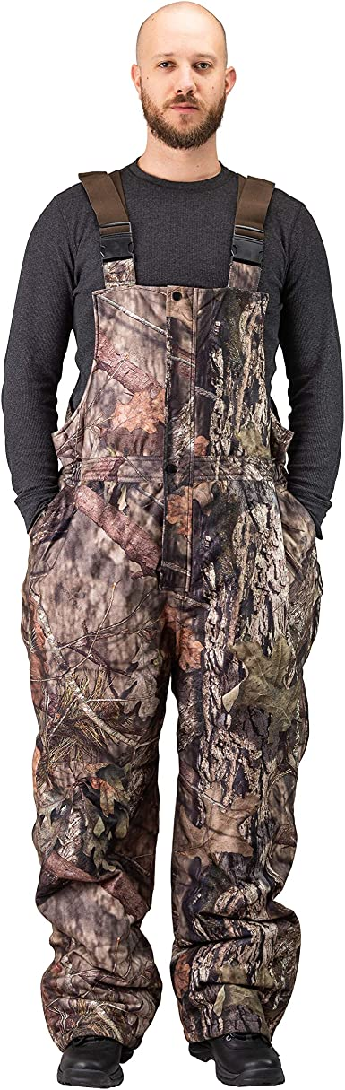 TrailCrest Kids Insulated /& Waterproof Camo Bib Overalls Mossy Oak Pattern