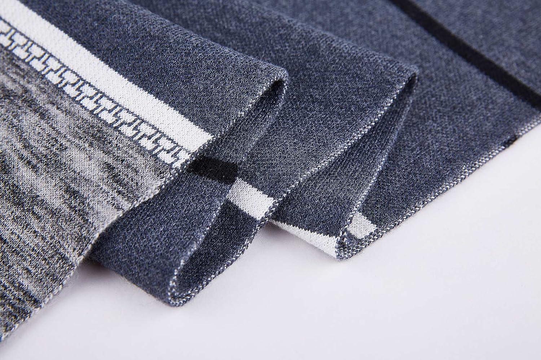 Men Scarf Mens Wool Soft Winter Autumn Long Cashmere Feel Warm Scarves