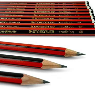 L/ápiz 2B 12 unidades Staedtler Tradition 110-2B