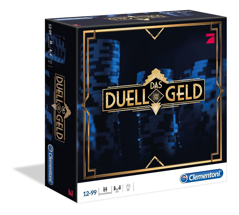 Clementoni 69066.4 - Das Duell um die Geld, Brettspiel