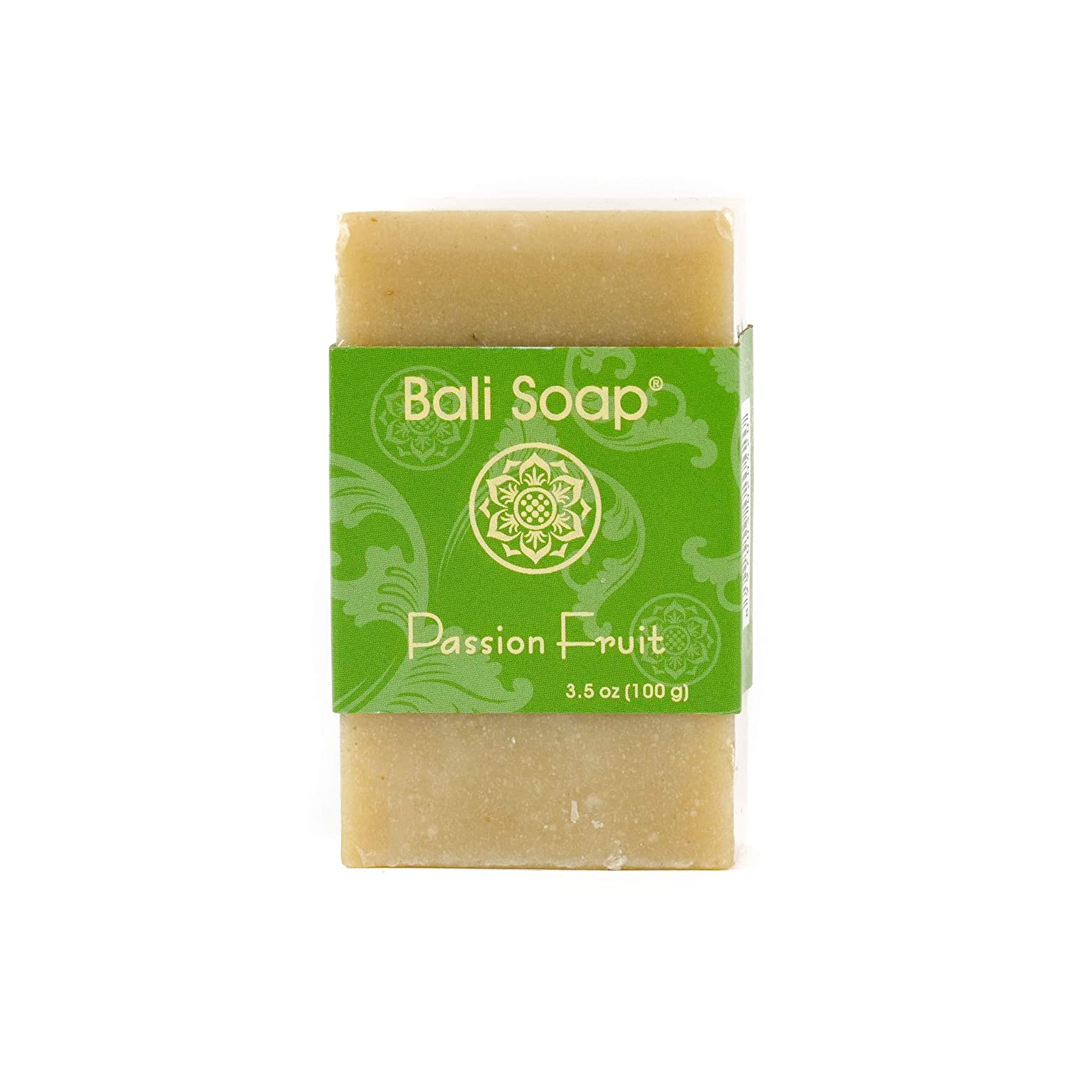Bali Soap - Passion Fruit Natural Soap Bar, Face or Body Soap Best for All Skin Types, For Women, Men & Teens, Pack of 3, 3.5 Oz each