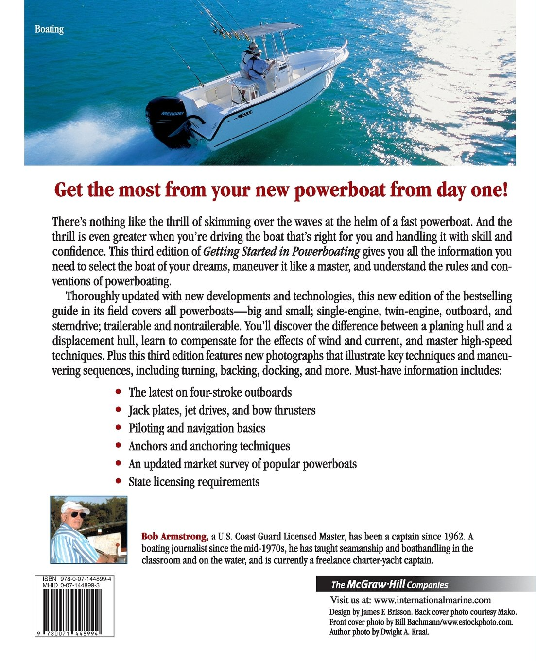 Getting Started In Powerboating (international Marinermp): Robert  Armstrong: 9780071448994: Amazon: Books