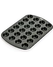 Kaiser Inspiration Mini-Muffinform, für 24 Muffins, 38 x 27 cm antihaftbeschichtet kurze Backzeit für süße und herzhafte Rezepte