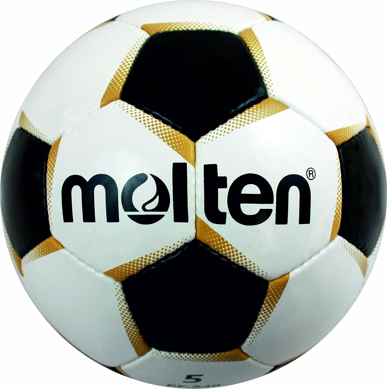 Molten PF-541 Ballon de football Blanc/or/noir Taille 4