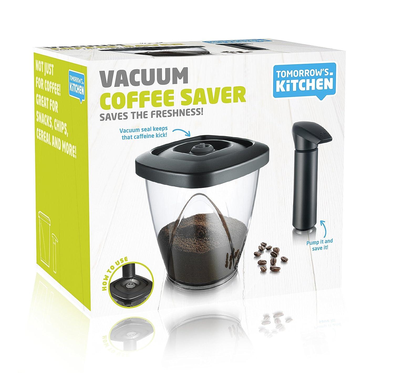 Amazoncom Tomorrows Kitchen 13 Quart Vacuum Coffee Storage