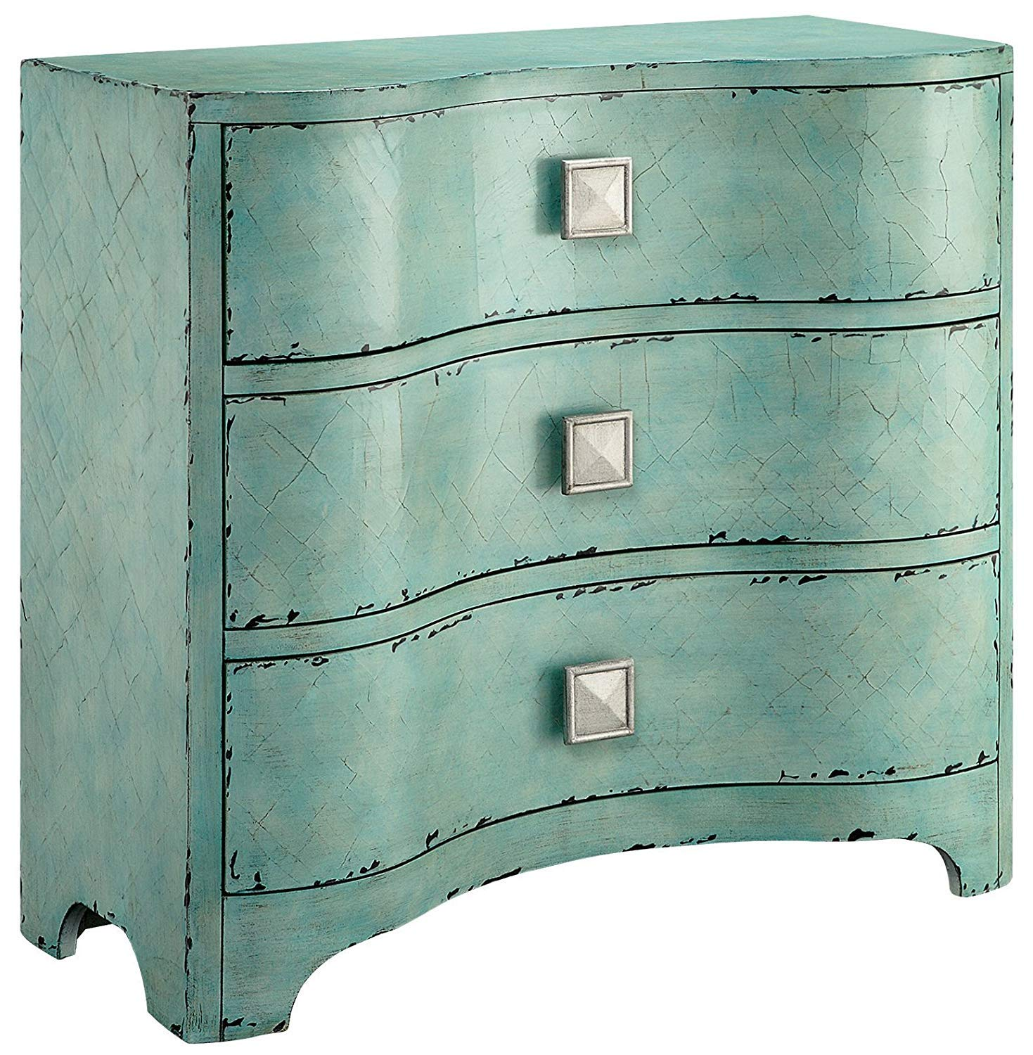 Madison Park Fulton Accent Chest Wood Living Room 20 Drawer Storage ...