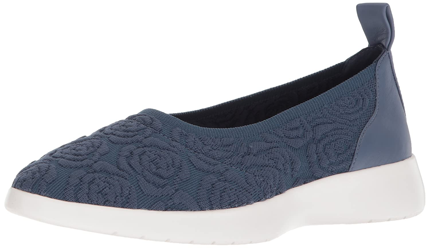 Taryn Rose Women's Daisy Knit Sneaker B074B5PWCN 8 M M US|Denim